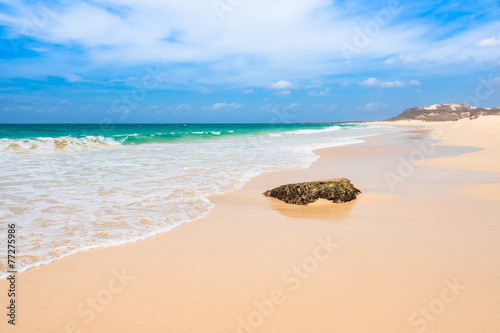 Papiers peints Pays d Afrique Verandinha beach Praia de Verandinha in Boavista Cape Verde -