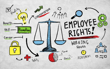 Employee Rights Employment Equality Rules Law Concept