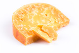 Piece of old cheese