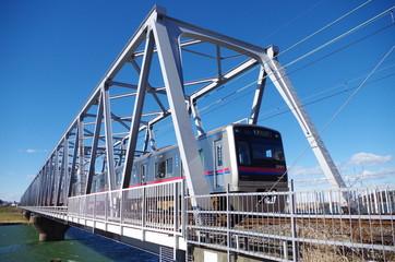 京成電鉄の橋梁