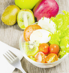 friut salad with vitamin
