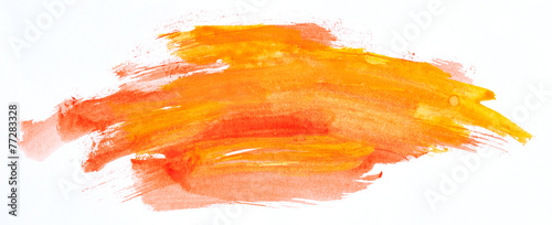 Watercolour paint strokes - 77283328
