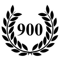 Lauriers 900 sur fond blanc