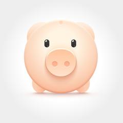 Vector Piggy Money Box Icon