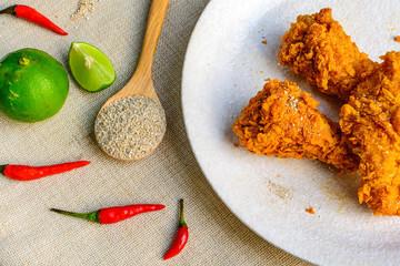 Frried spicy chicken
