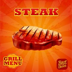 steak grill menu