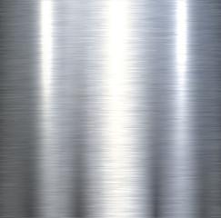 Steel metal background brushed metallic texture.