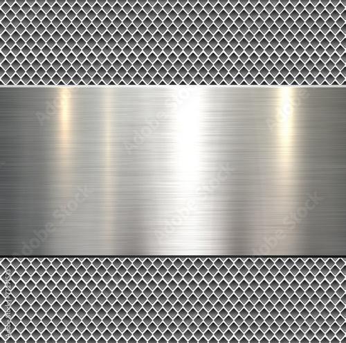 Tło, polerowana metal tekstura