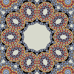 Unusual seamless tiles vector design