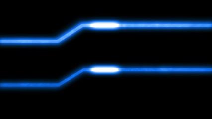 Energy Lines Blue