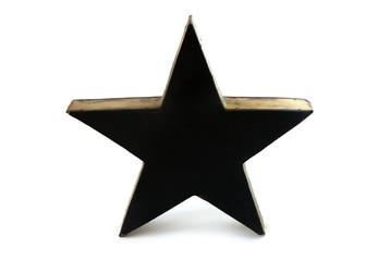 Stern schwarz-gold