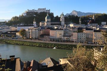 Salzburg - 016 - Altstadt - Kapuzinerberg