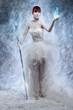 Obrazy na płótnie, fototapety, zdjęcia, fotoobrazy drukowane : Ice sorceress