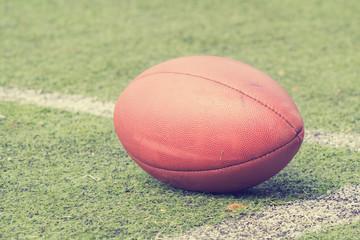 American football court - 50 yards center.