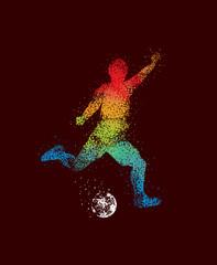 Football Art 2 Dark