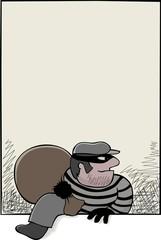 burglar banner