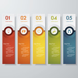 Fototapety Design clean number banners template. Vector.
