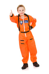 Astronaut: Astronaut Gives Thumbs Up