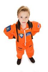 Astronaut: Serious Boy Astronaut