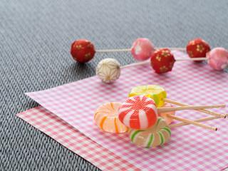 ひな祭りの飴菓子