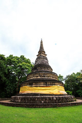Stupa or pagoda in Umong temple