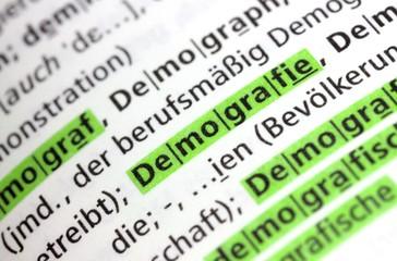 Demografie Wörterbuch