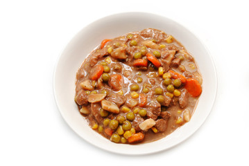 Hearty Beef or venison Stew With Healthy Vegetables