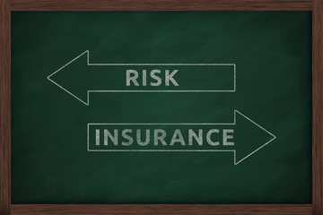 The risk, or the insurance