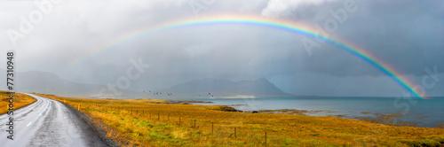 Leinwandbild Motiv Under the rainbow