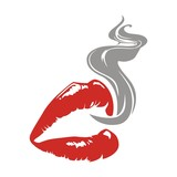 lips and smoke - 77311703