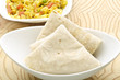 Yummy roti with cabbage curry
