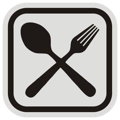 cutlery, frame