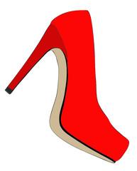 Scarpa elegante e alla moda