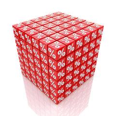 cube percent