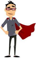 homme moderne super héros