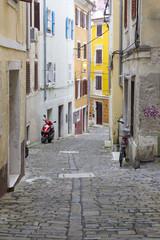 Old Town in Piran, Slovenia