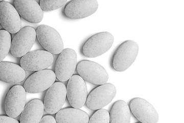 Close up Medicine pills