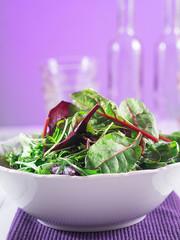 Gemischter Salat in einer Schüssel