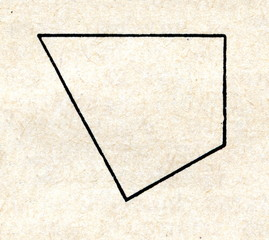 Irregular quadrilateral