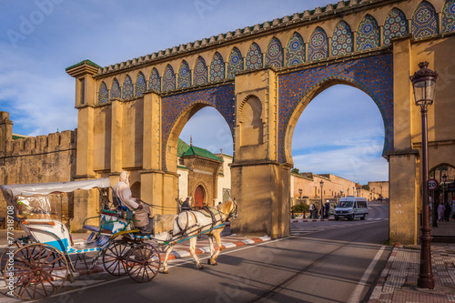 Poster Marokko Bab Moulay Ismail, Meknes