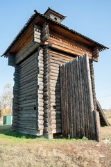Tower of Aramashevsky jail. Nizhnyaya Sinyachikha