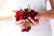 Juicy and ripe cherry