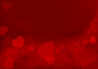 Valentines Day Backgrounds - Abstract Red Letter