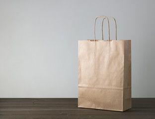 disposable bag of kraft paper