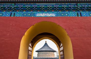 Imperial Vault of Heaven in The Temple of Heaven in Beijing