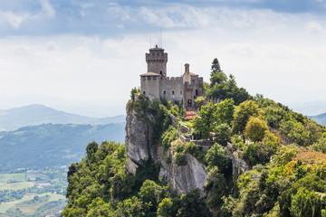 ancient fortress of Republic San Marino