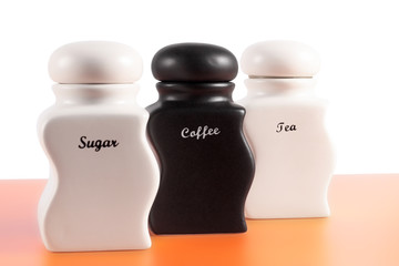 Sugar, Coffee, Tea b&w