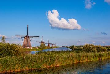 Windmills in Kinderdijk - Holland