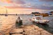Morning in Mikrolimano marina in Athens, Greece. - 77332730