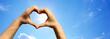 Leinwanddruck Bild - Liebe Symbol